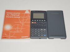 Casio Power Graphic Fx-7700gb Graphing Calculator