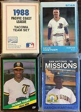 1988 Star Company W.PALM BEACH-Expos  Minor League Complete Team Set  F6105215