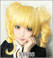 Wig CAP + Black Butler Kuroshitsuji Elizabeth Anime  Cosplay Wig Free Ship