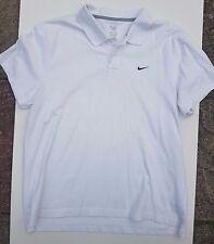 Nike Men's Golf Polo Blanco Manga Corta Camisa Tamaño XL