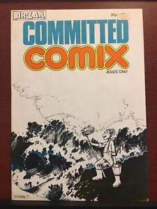 Committed Comix HUNT EMERSON Ar-Zak Underground UK Comics Very Rare Near Mint