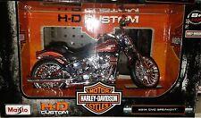 Harley Davidson 2014 CVO Breakout Motorcycle Die-cast 1:12 Maisto 5 inch
