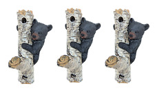 Bear on Tree Wall Hook (a Set of 3)