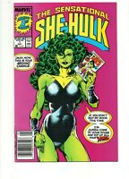 Sensational She-Hulk #1 *** SIGNED by JOHN BYRNE!! *** 1989 NICE NM 9.4! Savage
