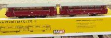 Brawa 64312 Schienenbus LVT 171 + LVB 171.8 DR Ep.4 mit PANORAMASCHEIBEN mit DSS