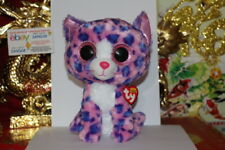 """Ty Beanie Boos Reagan The Leopard.Medium.9"""".Cl aire'S.2014~2015.Mwnm t.Nice Gift"""