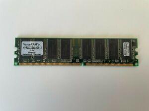 Kingston  PC2700 DDR333 512MB  KVR333x64C25/512 Memory