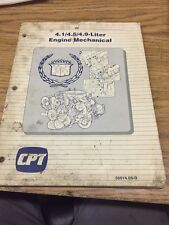 GM Product Service Manual Cpt 4-1/4.5/4.9-liter Engine Mechanical