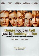 USE DVD - THINGS YOU CAN TELL JUST BY LOOKING AT HER - GLENN CLOSE , CAMERON DI