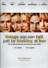 NEW DVD - THINGS YOU CAN TELL JUST BY LOOKING AT HER - GLENN CLOSE , CAMERON DI