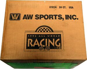1992 All World Racing Factory Sealed Case 24 Sets BC2067