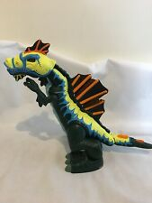 """2005 Fisher Price Imaginext Dinosaure Mega Spinosaurus 18"""" yeux Glow Red Sons"""