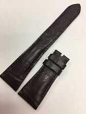 Patek Philippe Matt Brown Alligator Watch Strap Band 21 mm x 16 mm