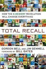 TOTAL RECALL by Jim Gemmell : WH3-B24 : HB346 : NEW BOOK