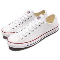 Converse Chuck Taylor All Star OX Leather White Men Women Shoes Sneakers 132173C