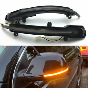 For Audi Q5 SQ5 8R 2010-17 Q7 Facelift LED Dynamic Side Mirror Sequential Light