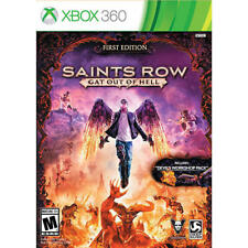 Saints Row Gat Out of Hell COMPLETE Microsoft Xbox 360 GAME