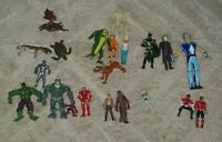 Toy figure joblot Batman, Star Wars, Marvel, Scooby Doo and more