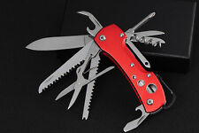 Swiss Army Pocket Knife Folding Multi-Use Tools Camping Survival Shackle Gift