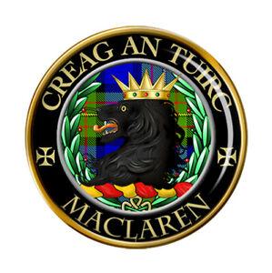 Maclaren Scottish Clan Pin Badge