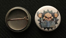 "Warhammer 40k Ork 1"" pin button - Space Marines - Buy 2 Get 1 Free"