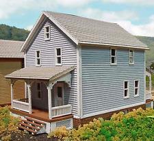 COMPANY HOUSE #2 N Scale Model Railroad Structure Unpainted Laser Wood Kit LA806