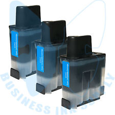 3 CYAN LC41 HIGH YIELD LC41C Ink Cartridge Compatible for BROTHER Printer