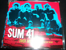 Sum 41 Over My Head Better Of Dead Australian Promo CD SAMPCDP9