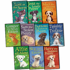 Holly Webb 10 books Collection Set Puppy and kitten Childrens Sophy Williams NEW