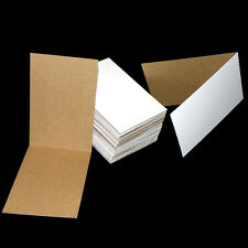 "50 Protective Cardboard Folders 3""x4.5"", Mailing, Collectible Card Sleeves"