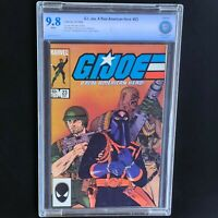 G.I. JOE A REAL AMERICAN HERO #23 💥 CBCS 9.8 White Pgs 💥 GI JOE Marvel 1984