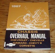 1967 Chevrolet Chassis Overhaul Manual 67 Chevy Camaro Corvette Chevelle Nova