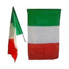 BANDIERA ITALIA IN STOFFA CM 80X120