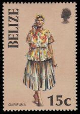 "BELIZE 800 (SG889) - Traditional Costumes ""Garifuna Woman"" (pa55016)"