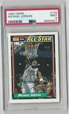 Michael Jordan 1992 Topps All-Star #115 PSA 9 Mint NEW CASE Chicago Bulls