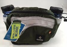 Outdoor Products Fanny Pack 2/16 oz. Sport Bottles, Gray/Gray, NWT, Hiking,