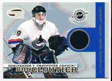2003-04 INVINCIBLE JERSEY DAN CLOUTIER JERSEY 1 COLOR 283/500 VANCOUVER CANUCKS