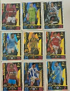 2018/19 Topps Match Attax Man of the Match Choose your cards Multibuy