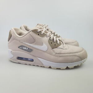 Women's NIKE 'Air Max 90' Sz 9 US Shoes Beige White VGCon | 3+ Extra 10% Off