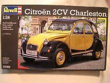 REVELL 1/24 - MAQUETTE A MONTER =  CITROEN 2 CV  CHARLESTON - BOÏTE SCELLEE