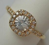 Ring GLAMIRA mit 0,24 ct. Brillanten Diamanten Markenring 18 Kt. 750 Gold Gr. 64