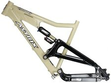 "ASTRIX STRYKE All Mountain Dual Suspension 26"" Bike Bicycle Frame Size L"