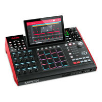 Akai MPC X Standalone Music Production Center Workstation Sampler Sequencer