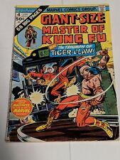 Master of Kung Fu GIANT SIZE #4 June 1975 Marvel Comics Shang Chi SEE PHOTO