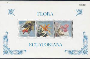 Ecuador - 1972 - SC C510a - NH - 2 Souvenir sheets - perf & imperf