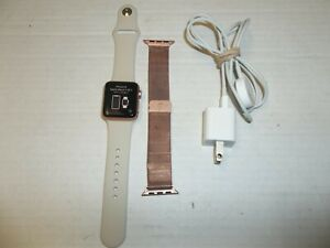 Apple Watch Series 3 38mm  Rose Gold with Ivory Band (GPS + Cellular)