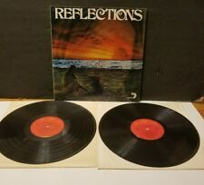 RARE REFLECTIONS DOUBLE LP ALBUM MAMAS AND PAPAS,MATHIS,MAMA CASS EXCELLENT COND