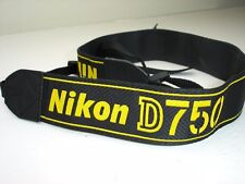 NIKON D750 CAMERA NECK STRAP   AN-DC14  Used