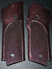 S&W model 59, 459, 559 pistol grips black russet checkered plastic