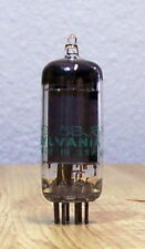 Jhs 6Bj6A Sylvania Remote Cut-off Pentode Tube 10/65 Nos Tested Quanity